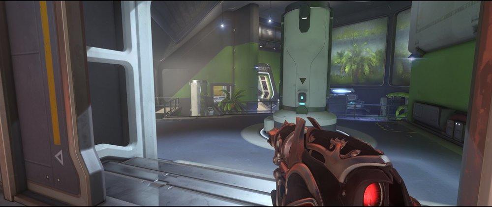 Start+point+two+high+ground+defense+sniping+spot+Widowmaker+Horizon+Lunar+Colony+Overwatch