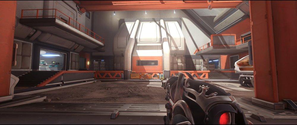 Second Point defense sniping spot Widowmaker Horizon Lunar Colony Overwatch