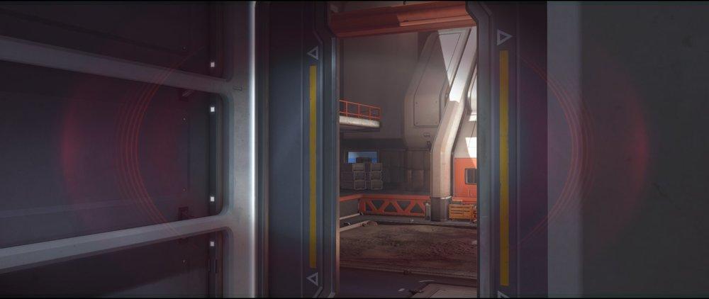 Main+door+hothouse+left+side+attack+sniping+spot+Widowmaker+Horizon+Lunar+Colony+Overwatch