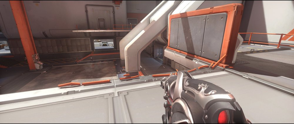 Balcony+side+view+attack+sniping+spot+Widowmaker+Horizon+Lunar+Colony+Overwatch