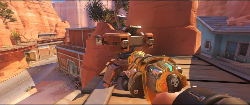 Perch+turret+placement+Torbjorn+Route+66+Overwatch