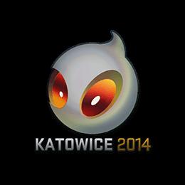 Sticker Team Dignitas Holo Katowice 2014