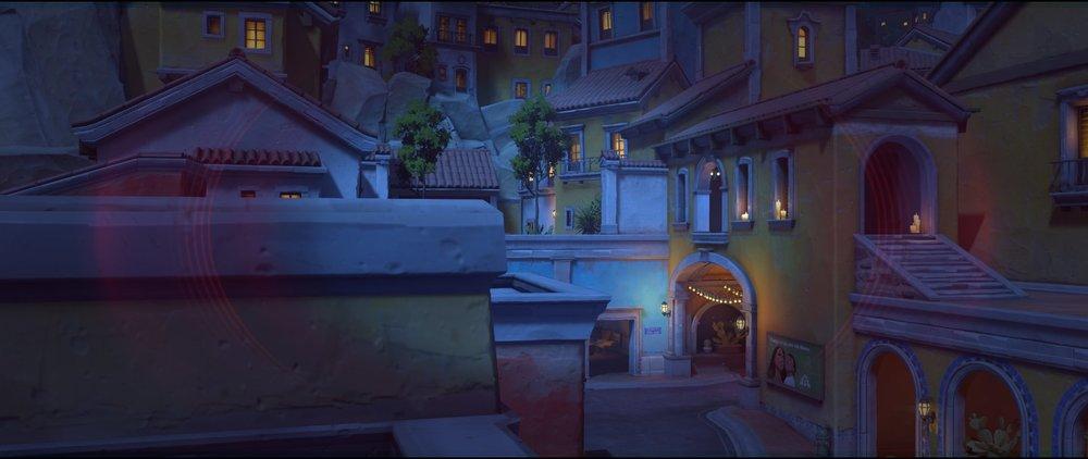 Yellow rooftop view attack sniping spot Widowmaker Dorado.jpg