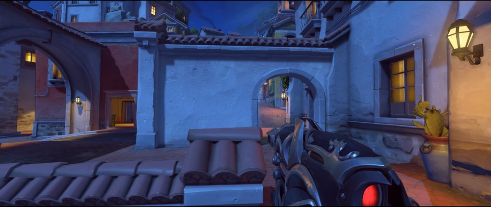 Wall mid attack sniping spot Widowmaker Dorado.jpg