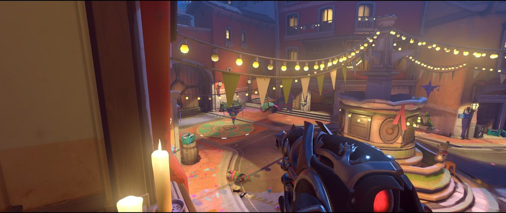 Halls view attack sniping spot Widowmaker Dorado.jpg