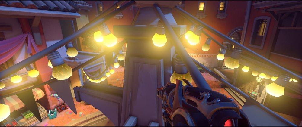 Top statue attack sniping spot Widowmaker Dorado.jpg