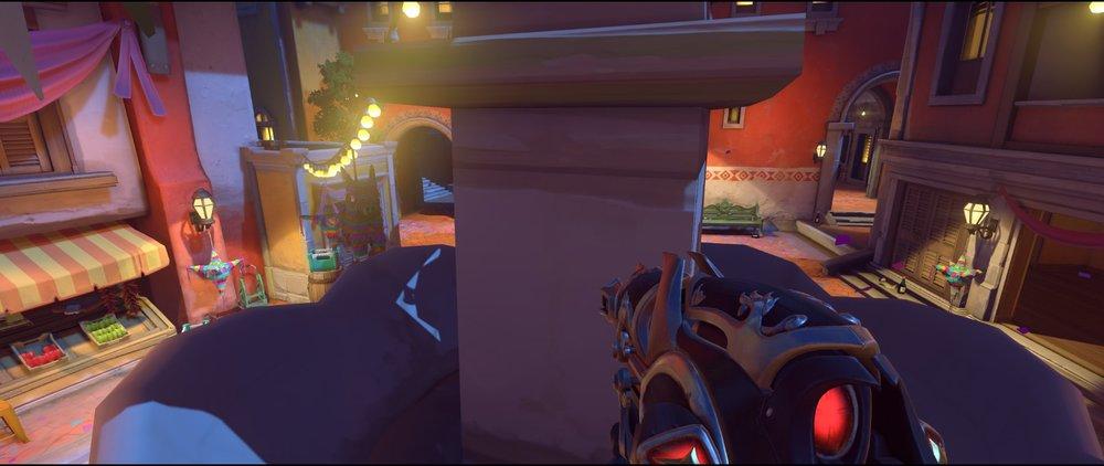 Covered by statue attack sniping spot Widowmaker Dorado.jpg