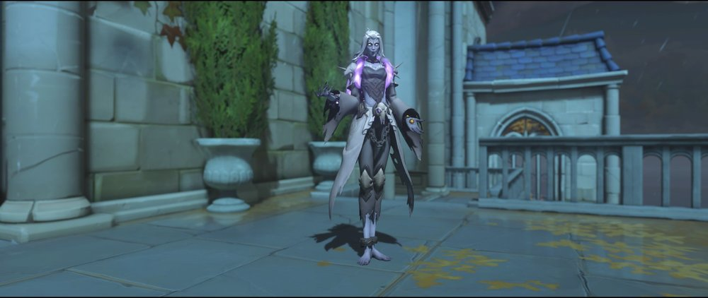 Banshee front legendary Halloween Terror skin Moira Overwatch.jpg
