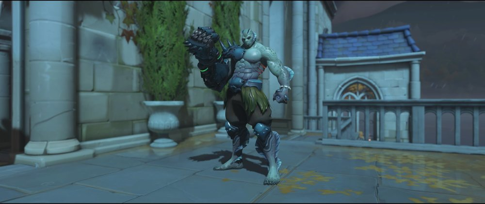 Swamp Monster front legendary Halloween Terror skin Doomfist Overwatch.jpg