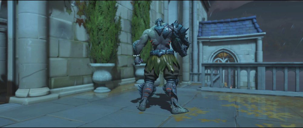 Swamp Monster back legendary Halloween Terror skin Doomfist Overwatch.jpg