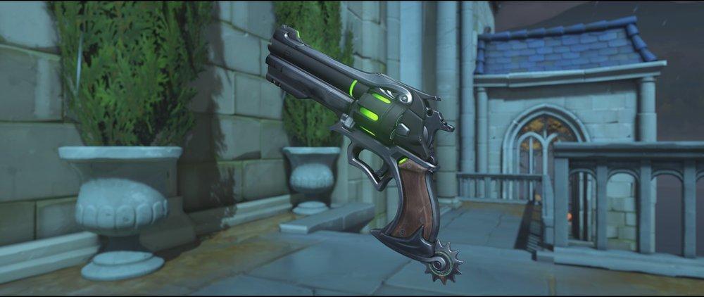 Undead front pistol Halloween Terror skin McCree Overwatch.jpg