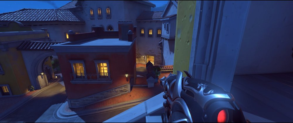 Pass to right side spawn defense sniping spot Widowmaker Dorado.jpg