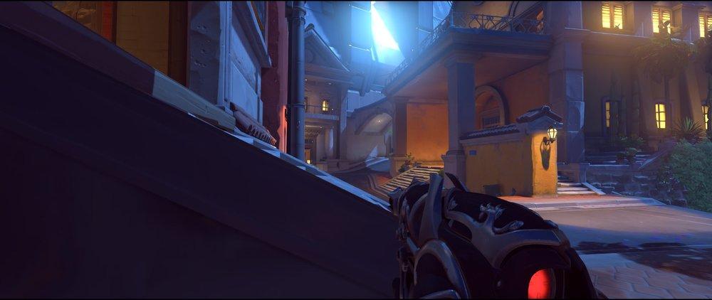 Stairs Museum attack sniping spot Widowmaker Dorado.jpg