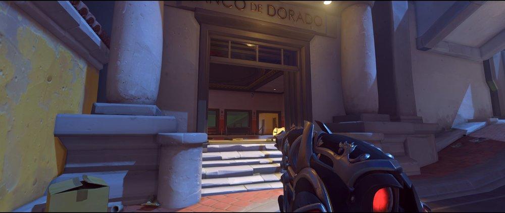 Bank flak route attack sniping spot Widowmaker Dorado.jpg
