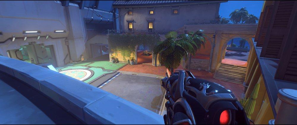 Pass attack sniping spot Widowmaker Dorado.jpg