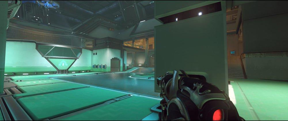 Garage attack sniping spot Widowmaker Dorado.jpg