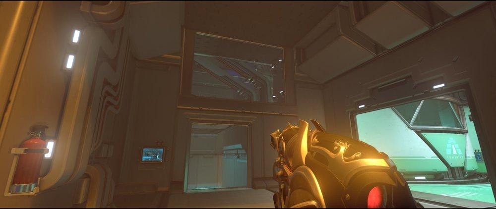 Warehouse to Ops attack sniping spot Widowmaker Dorado.jpg