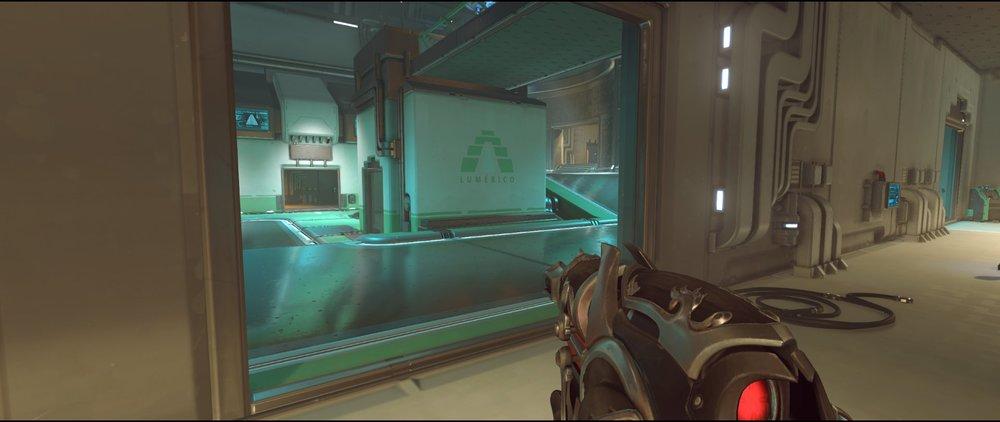 Halls ground level attack sniping spot Widowmaker Dorado.jpg