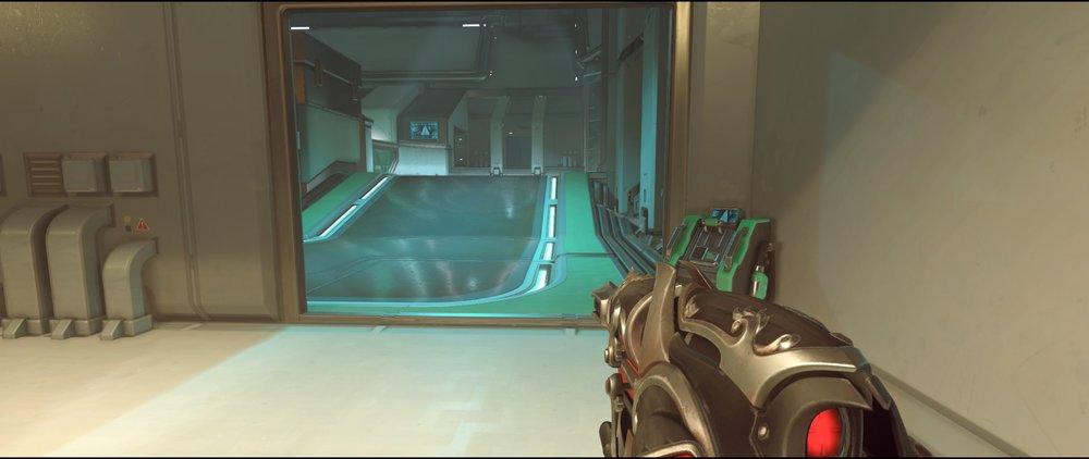 Halls ground level two attack sniping spot Widowmaker Dorado.jpg