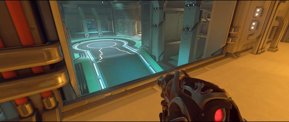 Halls high ground two attack sniping spot Widowmaker Dorado.jpg