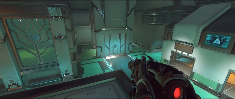 Pass defense sniping spot Widowmaker Dorado.jpg