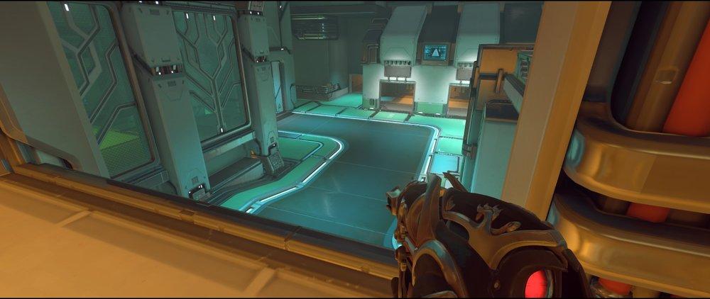 Halls high ground two defense sniping spot Widowmaker Dorado.jpg