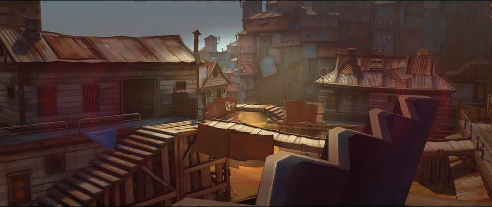 Cafe view two attack Widowmaker sniping spot Junkertown.jpg