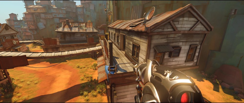 Cafe to Cinema attack Widowmaker sniping spot Junkertown.jpg