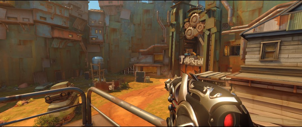 Right side top apartment attack Widowmaker sniping spot Junkertown.jpg