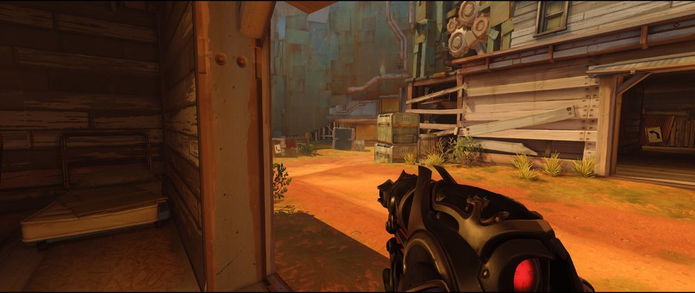 Appartment ground level right side attack Widowmaker sniping spot Junkertown.jpg