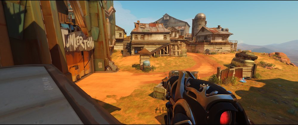 Top door high ground attack Widowmaker sniping spot Junkertown.jpg