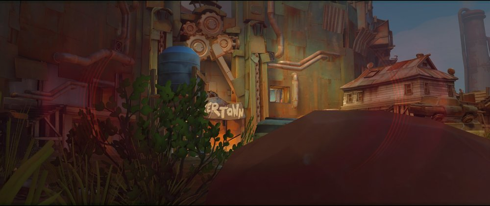 Coast side spot view attack Widowmaker sniping spot Junkertown.jpg