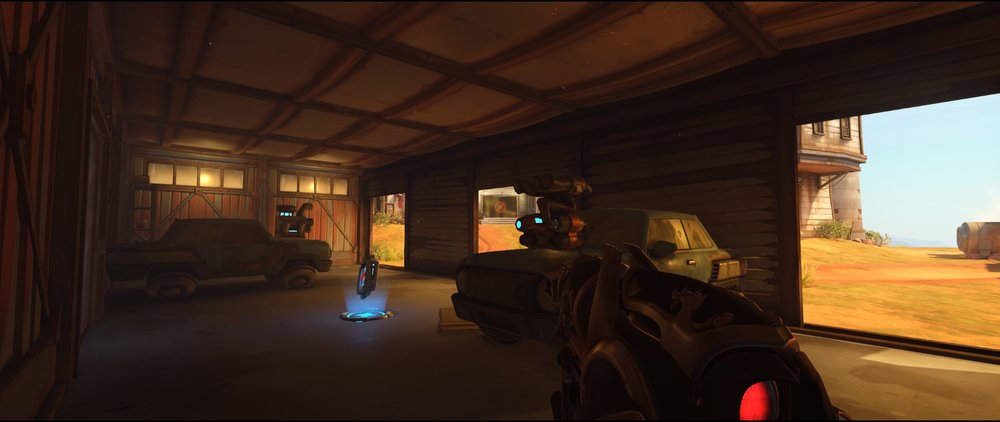 Garage defense Widowmaker sniping spot Junkertown.jpg