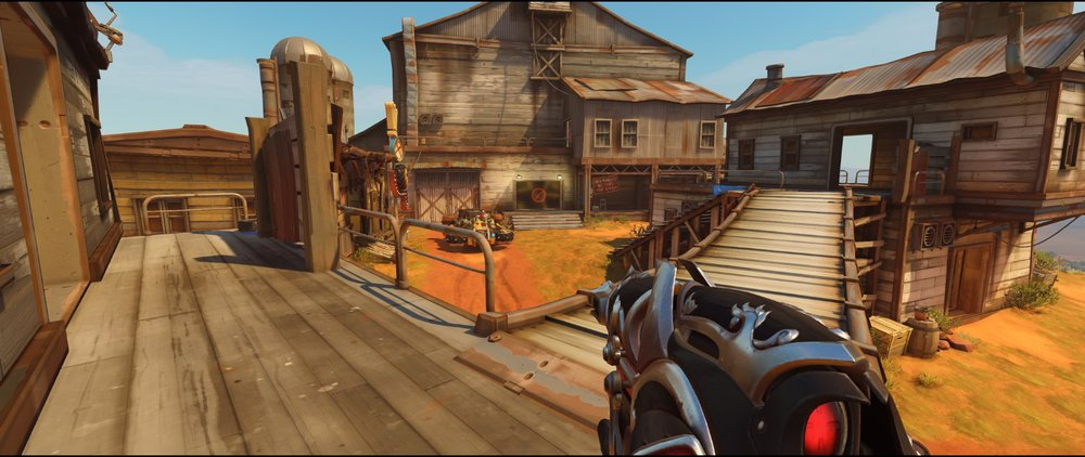 Catwalk defense Widowmaker sniping spot Junkertown.jpg