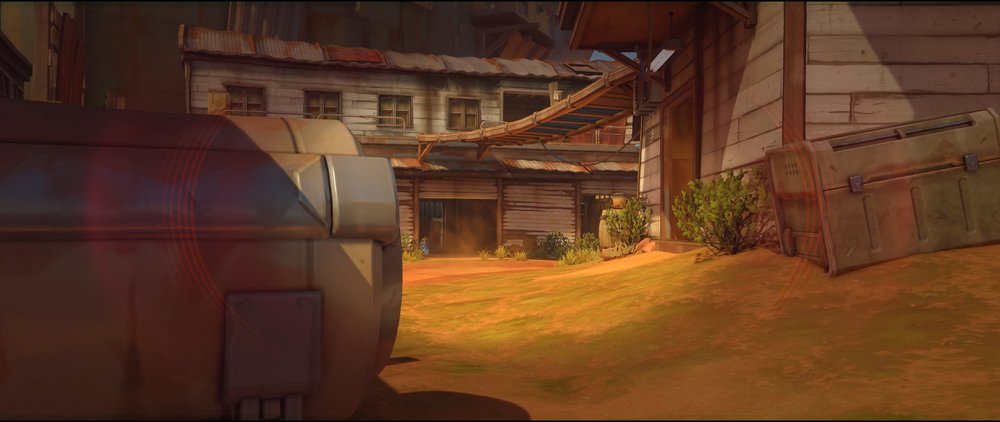 Appartment ground level right side defense Widowmaker sniping spot Junkertown.jpg