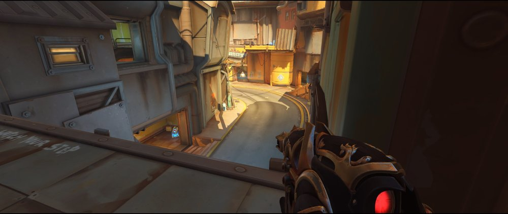 First high ground P2 attack Widowmaker sniping spot Junkertown.jpg
