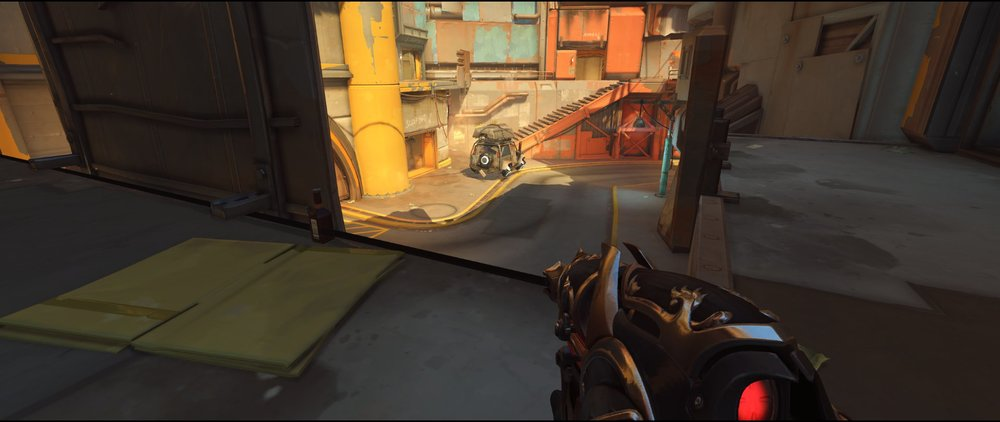 Ledge two attack Widowmaker sniping spot Junkertown.jpg