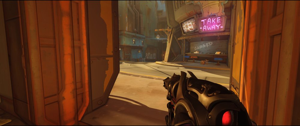 Below Balcony defense Widowmaker sniping spot Junkertown.jpg