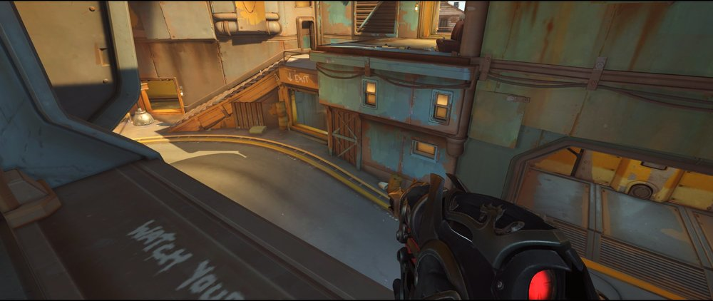 Heaven two defense Widowmaker sniping spot Junkertown.jpg