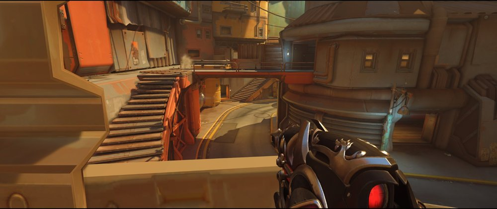 Catwalk two defense Widowmaker sniping spot Junkertown.jpg