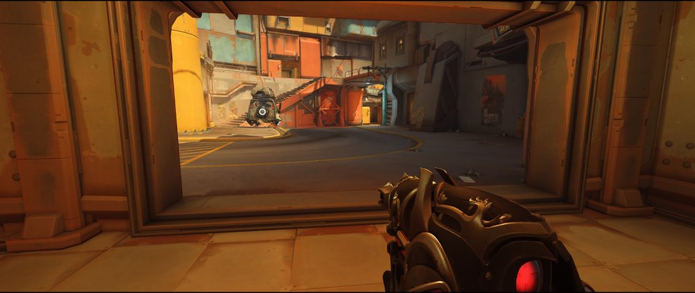Ground level Nest defense Widowmaker sniping spot Junkertown.jpg