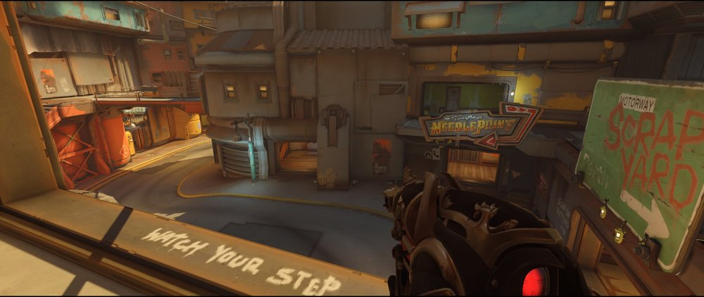 Cinema two defense Widowmaker sniping spot Junkertown.jpg