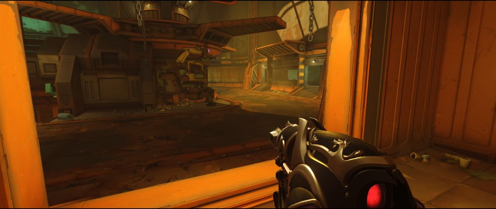 Long door attack Widowmaker sniping spot Junkertown.jpg