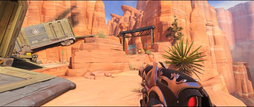 Right side main Wagon attack sniping spot Widowmaker Route 66.jpg