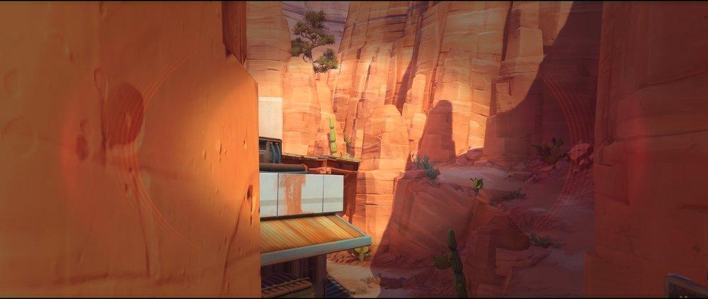 Rock pillar view right side attack sniping spot Widowmaker Route 66.jpg