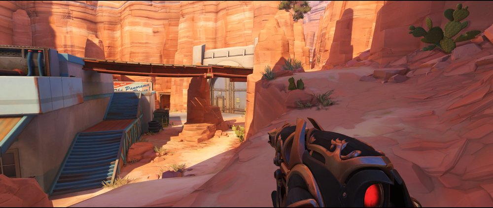 Path attack sniping spot Widowmaker Route 66
