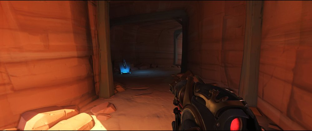 Cave escape route defense sniping spot Widowmaker Route 66.jpg