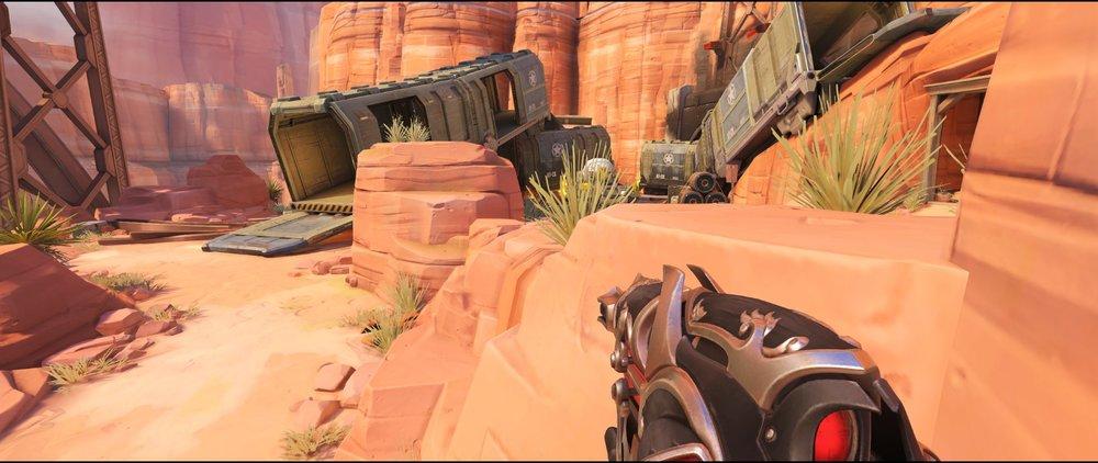 Long advanced defense sniping spot Widowmaker Route 66.jpg