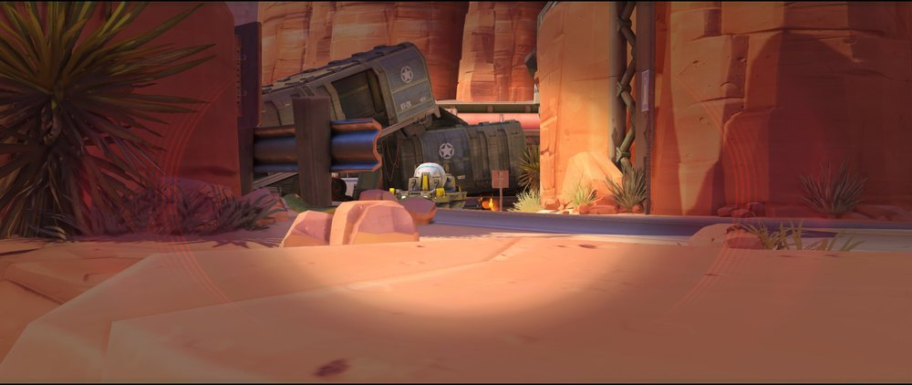 Long crouched view one defense sniping spot Widowmaker Route 66.jpg