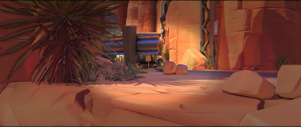 Long crouched view two defense sniping spot Widowmaker Route 66.jpg